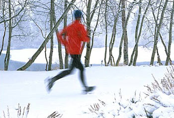 running in the winter